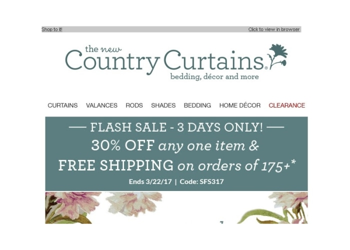 Free Shipping Promo Code Country Curtains Curtain Menzilperde Net