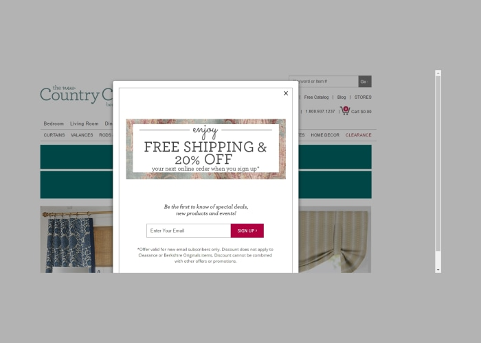 40% Off Country Curtains Coupon Code 2017 (Screenshot Verified) by ...