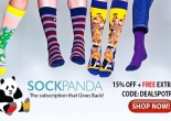 Sock Panda influencer marketing campaign