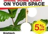 Brightech Shop influencer marketing campaign
