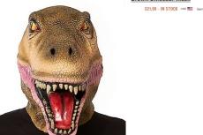 2198 costume express brown dinosaur mask vs 5099 at spirit halloween - Halloween Express Coupons Printable