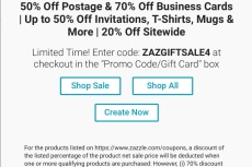Zazzle 50 off business cards coupon code gallery card design and zazzle 50 off business cards coupon code image collections card 50 off business cards zazzle image reheart Image collections