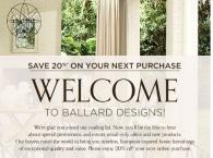 75 Off Ballard Designs Coupon Code