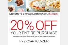 25% Off Shop World Kitchen Coupon Code | 2017 Promo Code | Dealspotr
