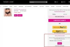 Yandy com coupon code